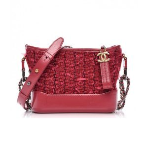 Chanel Gabrielle Hobo Medium Bag in Tweed Calfskin Leather