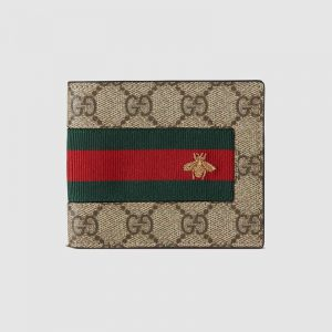 Gucci GG Men Gucci Signature Web Wallet