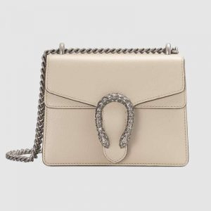 Gucci GG Women Dionysus Mini Leather Bag