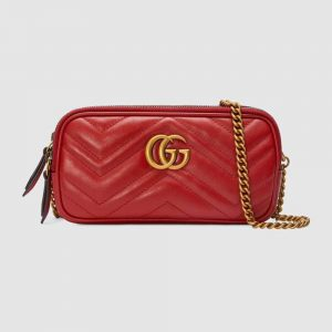 Gucci GG Women GG Marmont Mini Chain Bag