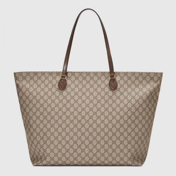 Gucci GG Women Ophidia GG Large Tote-Brown