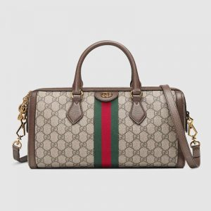 Gucci GG Women Ophidia GG Medium Top Handle Boston Bag