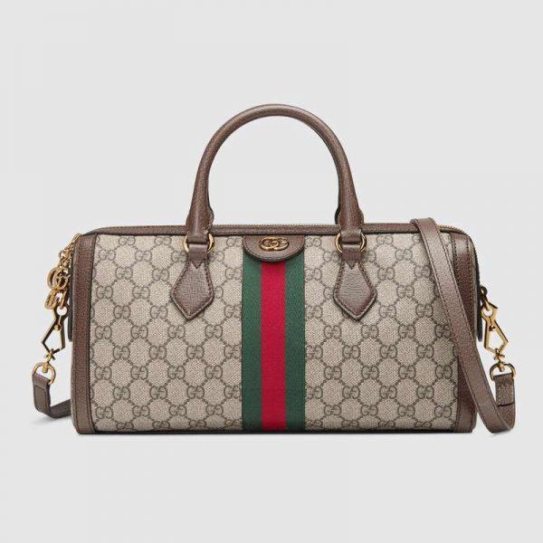 Gucci GG Women Ophidia GG Medium Top Handle Boston Bag