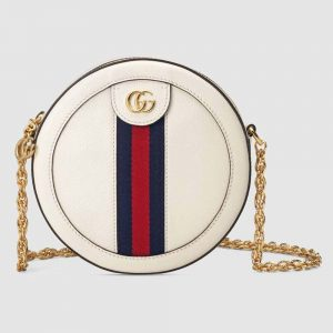 Gucci GG Women Ophidia Mini Round Shoulder Bag