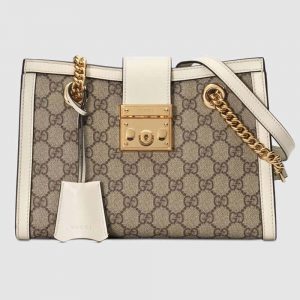 Gucci GG Women Padlock GG Small Shoulder Bag