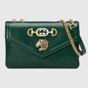 Gucci GG Women Rajah Medium Shoulder Bag