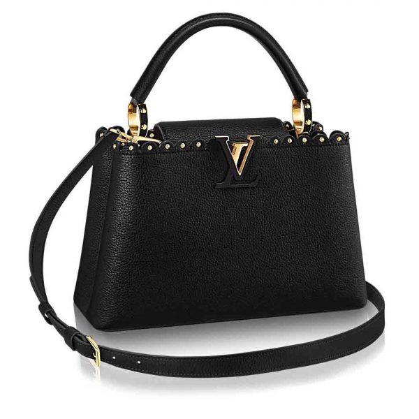Louis Vuitton LV Capcines PM Bag M54565-Black
