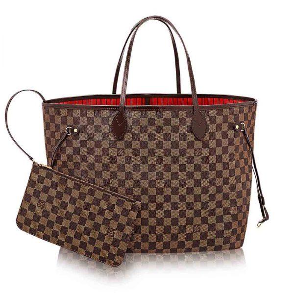 Louis Vuitton LV NEVERFULL MM Monogram Tote Handbag
