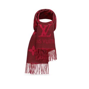 Louis Vuitton LV Reykjavik Scarf with Tone-on-tone Monogram