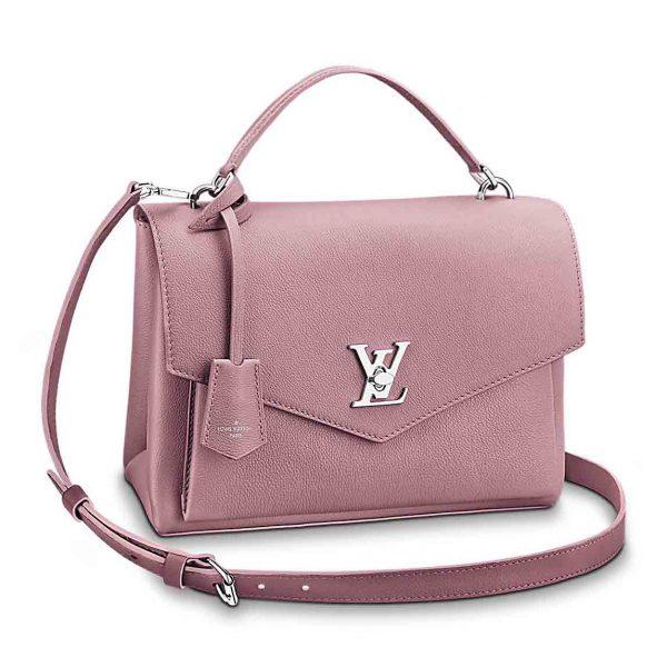 Louis Vuitton LV My Lockme Leather Handbag M54877
