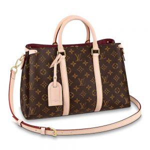 Louis Vuitton LV Women Soufflot BB Bag-Brown