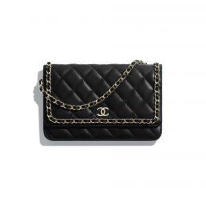 Chanel Women Wallet on Chain in Lambskin Leather