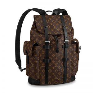 Louis Vuitton LV Men Christopher PM Backpack in Monogram Canvas