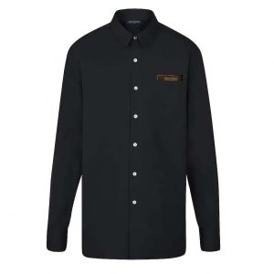 Louis Vuitton LV Men Louis Vuitton Staples Edition DNA Shirt-Black