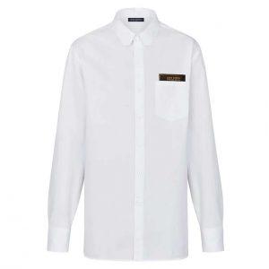 Louis Vuitton LV Men Louis Vuitton Staples Edition DNA Shirt-White
