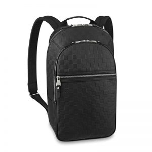 Louis Vuitton LV Men Michael NM Backpack in Damier Infini Leather