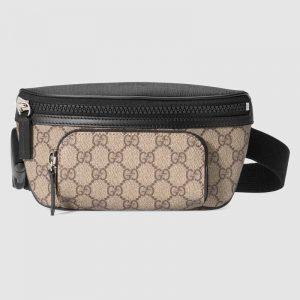 Gucci GG Unisex Gucci Eden Belt Bag in BeigeEbony GG Supreme Canvas