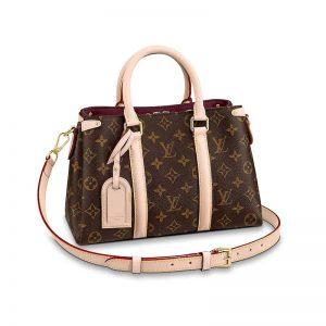 Louis Vuitton LV Women Soufflot BB Bag in Monogram Coated Canvas-Brown