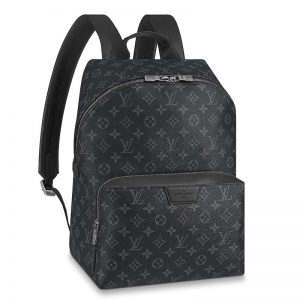 Louis Vuitton LV Unisex Discovery Backpack PM in Supple Monogram Eclipse Coated Canvas