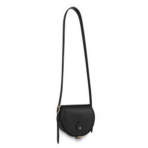 Louis Vuitton LV Women Tambourin Handbag in Smooth Calf Leather-Black