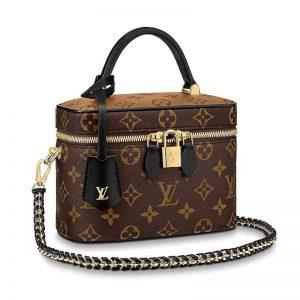 Louis Vuitton LV Unisex Vanity PM in Monogram Canvas-Brown