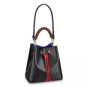 Louis Vuitton LV Women NéoNoé MM Bucket Bag Grained Epi-Black