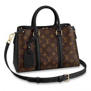 Louis Vuitton LV Women Soufflot BB Supple Monogram Canvas-Brown