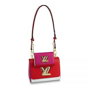 Louis Vuitton LV Women Twist & Twisty PM Epi Leather-Red