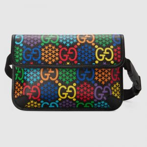 Gucci GG Unisex GG Psychedelic Belt Bag Psychedelic Supreme Canvas