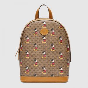 Gucci GG Women Disney x Gucci Small Backpack GG Supreme Canvas