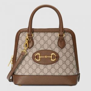 Gucci GG Women Gucci 1955 Horsebit Small Top Handle Bag