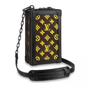Louis Vuitton LV Men Vertical Soft Trunk Bag Coated Canvas-Yellow
