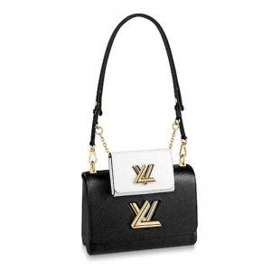 Louis Vuitton LV Women Twist MM and Twisty Epi leather