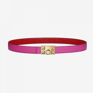 Hermes Women Collier De Chien Belt Buckle & Reversible Leather Strap 24 mm