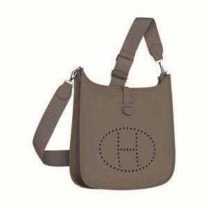Hermes Women Evelyne III 33 Bag-Grey