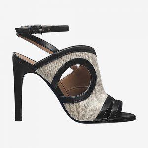 Hermes Women Shoes Rafaella Sandal 10.5cm Heel-Sandy