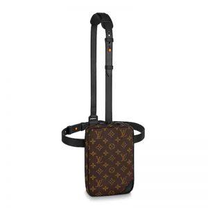 Louis Vuitton LV Men Utility Side Bag Monogram Coated Canvas