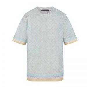 Louis Vuitton LV Women Monogram Tulle T-Shirt-Aqua