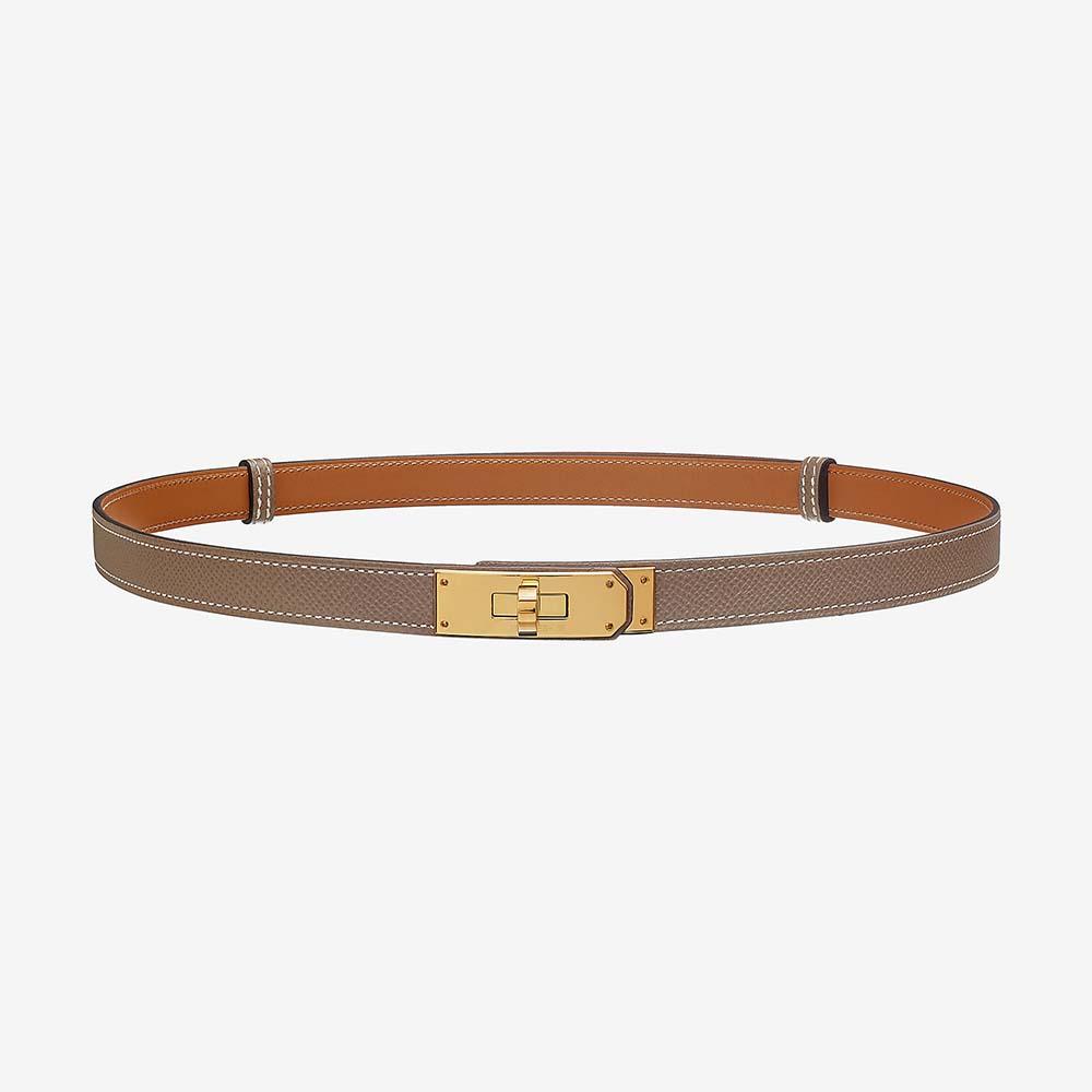 Hermes Women Kelly Belt in Calfskin Leather