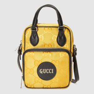 Gucci GG Unisex Gucci Off The Grid Shoulder Bag-Yellow