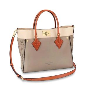 Louis Vuitton LV Unisex On My Side Tote Nappa Softy-Sandy