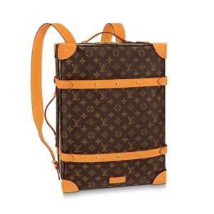 Louis Vuitton LV Unisex Soft Trunk Backpack MM Monogram Canvas
