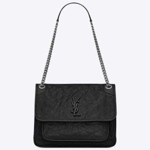 Saint Laurent YSL Women Niki Medium in Vintage Leather