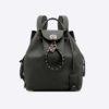 Valentino Garavani Twiny Backpack in Grained Lagun Calfskin-Black