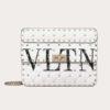 Valentino Women Medium VLTN Rockstud Spike.IT Bag-White