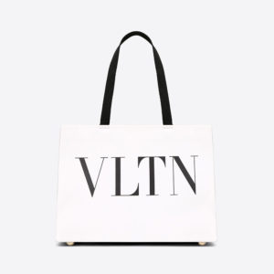 Valentino Women Vltn Tote Bag-White
