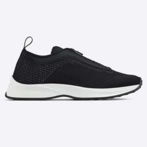 Dior Unisex B25 Low-Top Sneaker Black Neoprene and Mesh