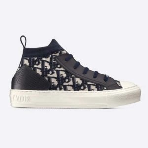 Dior Unisex Walk'n'Dior Sneaker Blue Dior Oblique Technical Mesh