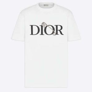 Dior Men Oversized Dior And Judy Blame T-Shirt Cotton-White
