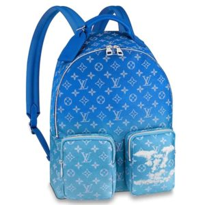 Louis Vuitton LV Unisex Backpack Multipocket Monogram Clouds Coated Canvas